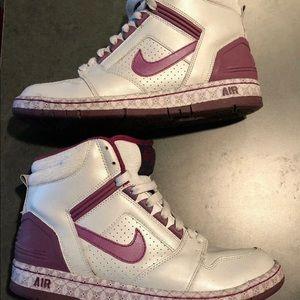 Nike Air Force II High Top Shoes Women's Sz 10.5